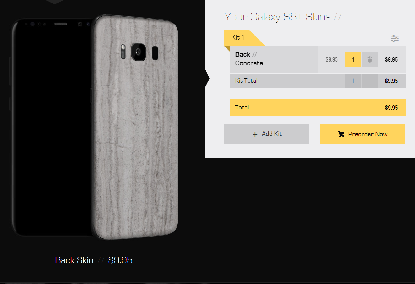 low priced df93b dbecd Galaxy S8 and Galaxy S8 Plus Skins Can Be Pre-Ordered Through dbrand