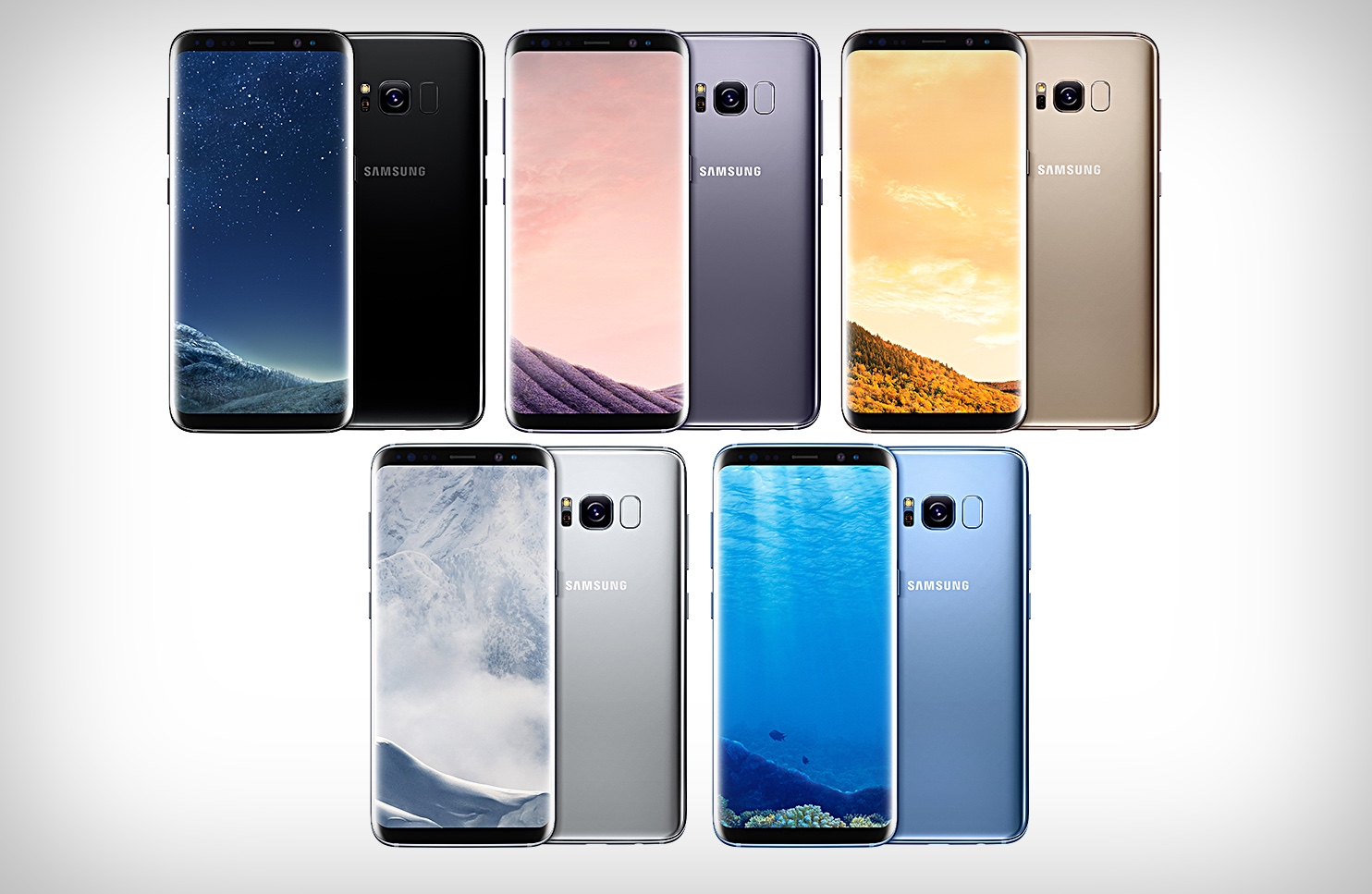 the brilliant new samsung galaxy s8 colors gallery. Black Bedroom Furniture Sets. Home Design Ideas