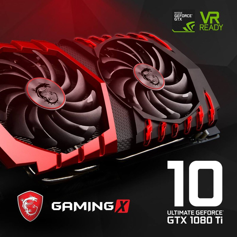 msi teases powerful geforce gtx 1080 ti gaming x with. Black Bedroom Furniture Sets. Home Design Ideas