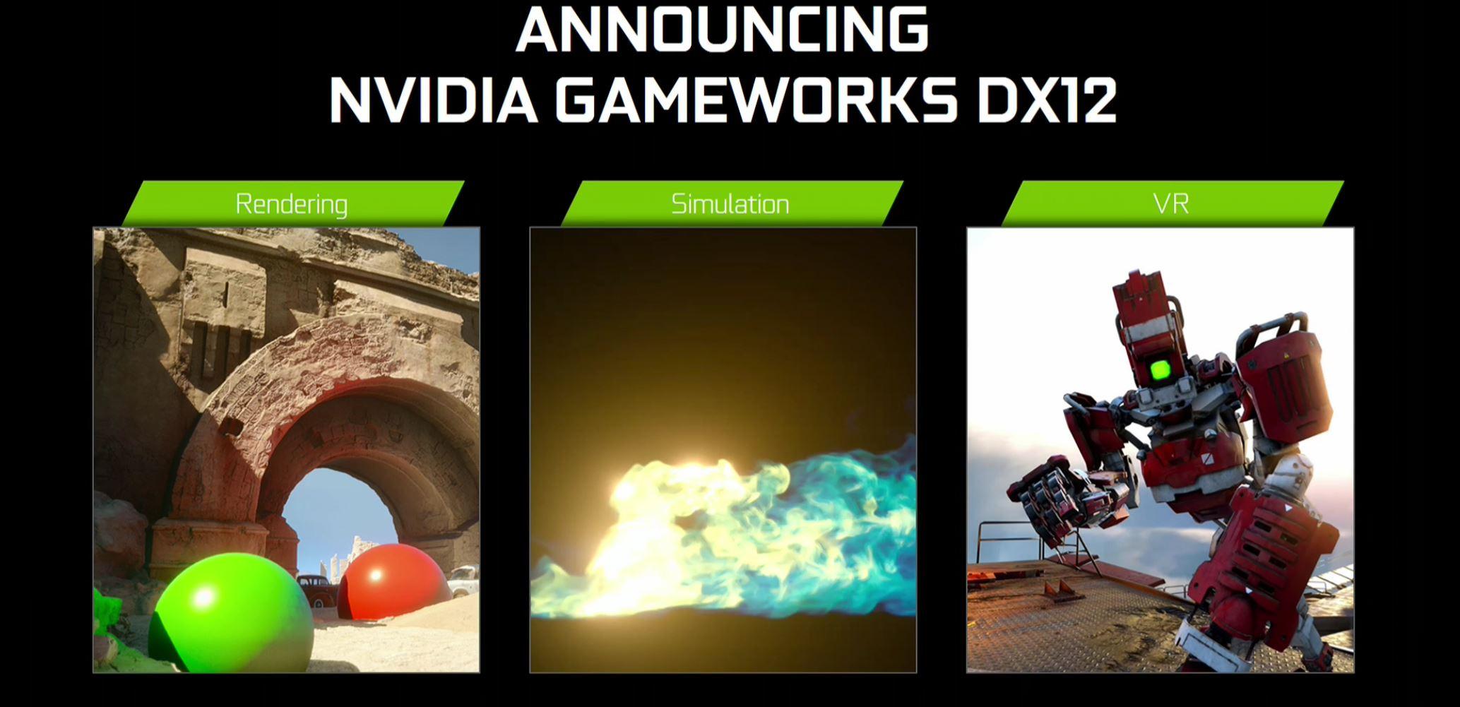 NVIDIA GeForce Gameworks DirectX 12 DX12