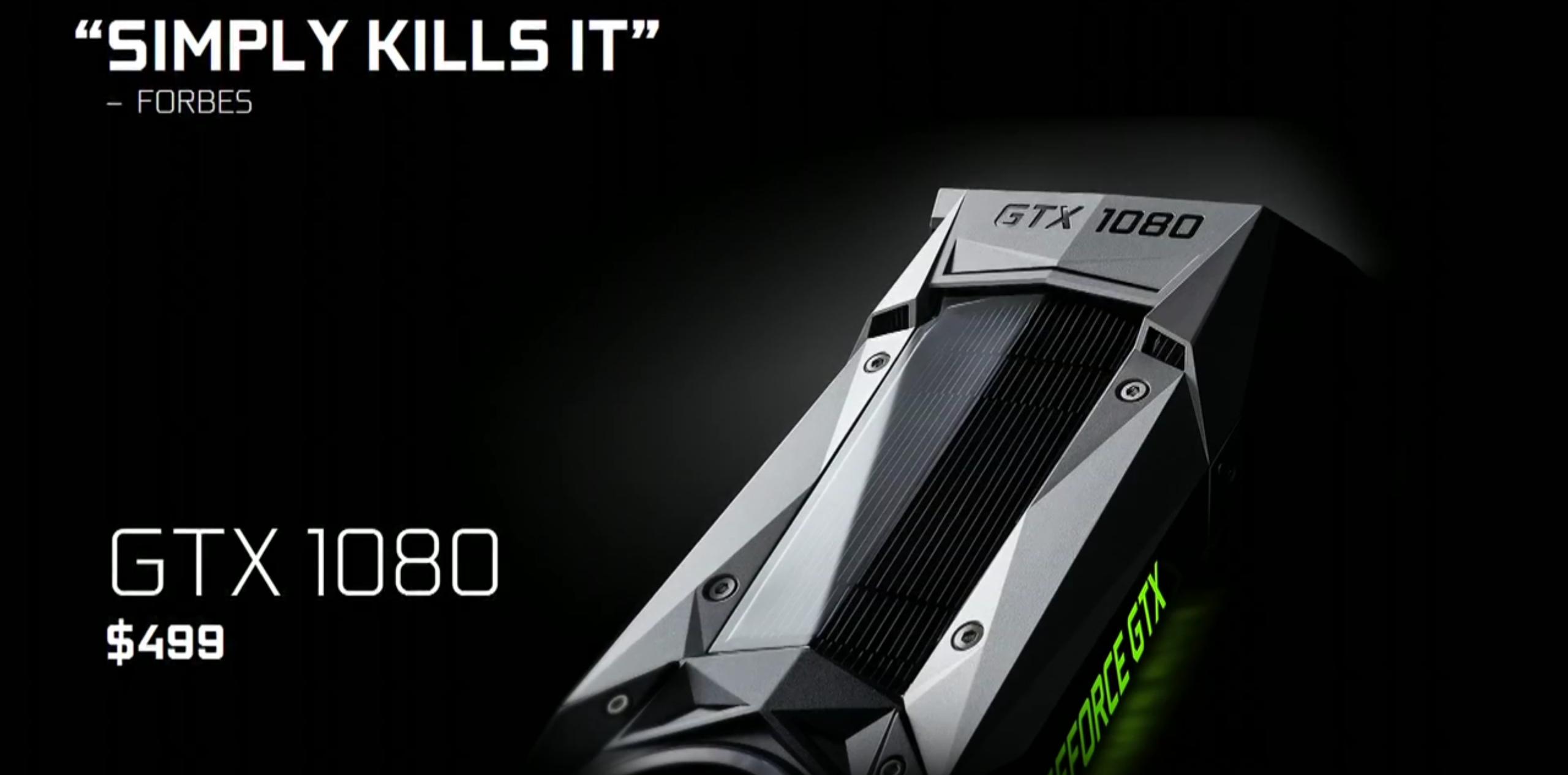 NVIDIA GeForce GTX 1080, GTX 1070, GTX 1060 Get Price Cuts