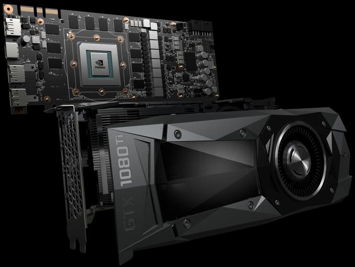 Kết quả hình ảnh cho GeForce GTX 1080 Ti