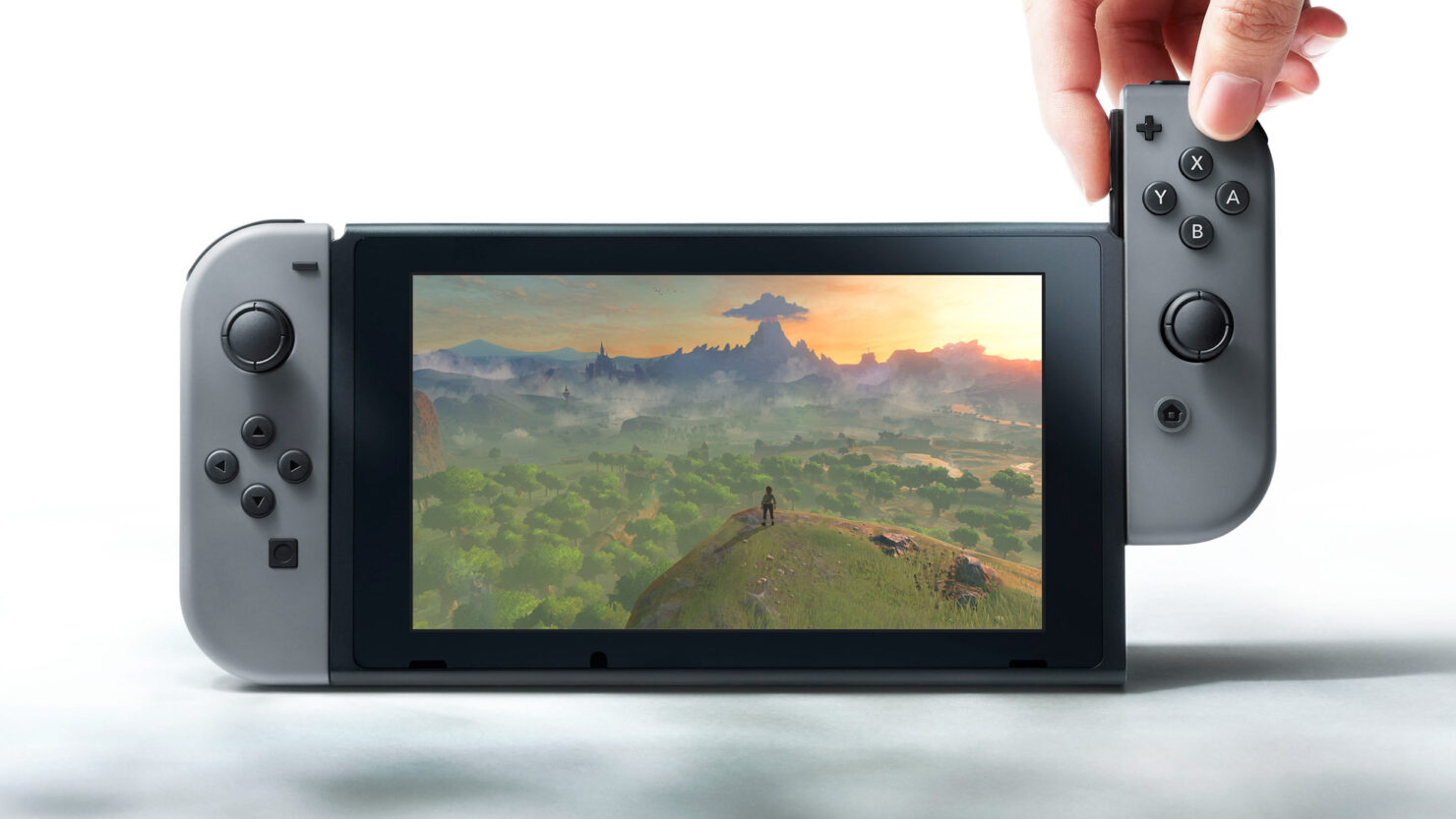 Nintendo Switch sales plain