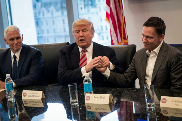 peter thiel trump palantir