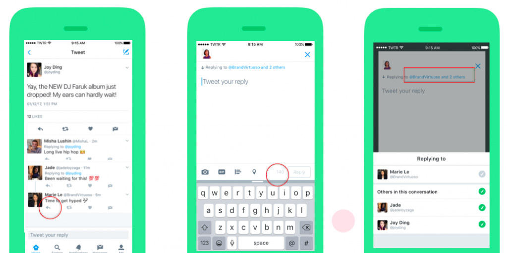 Twitter Finally Stops Counting @Usernames In Replies Towards