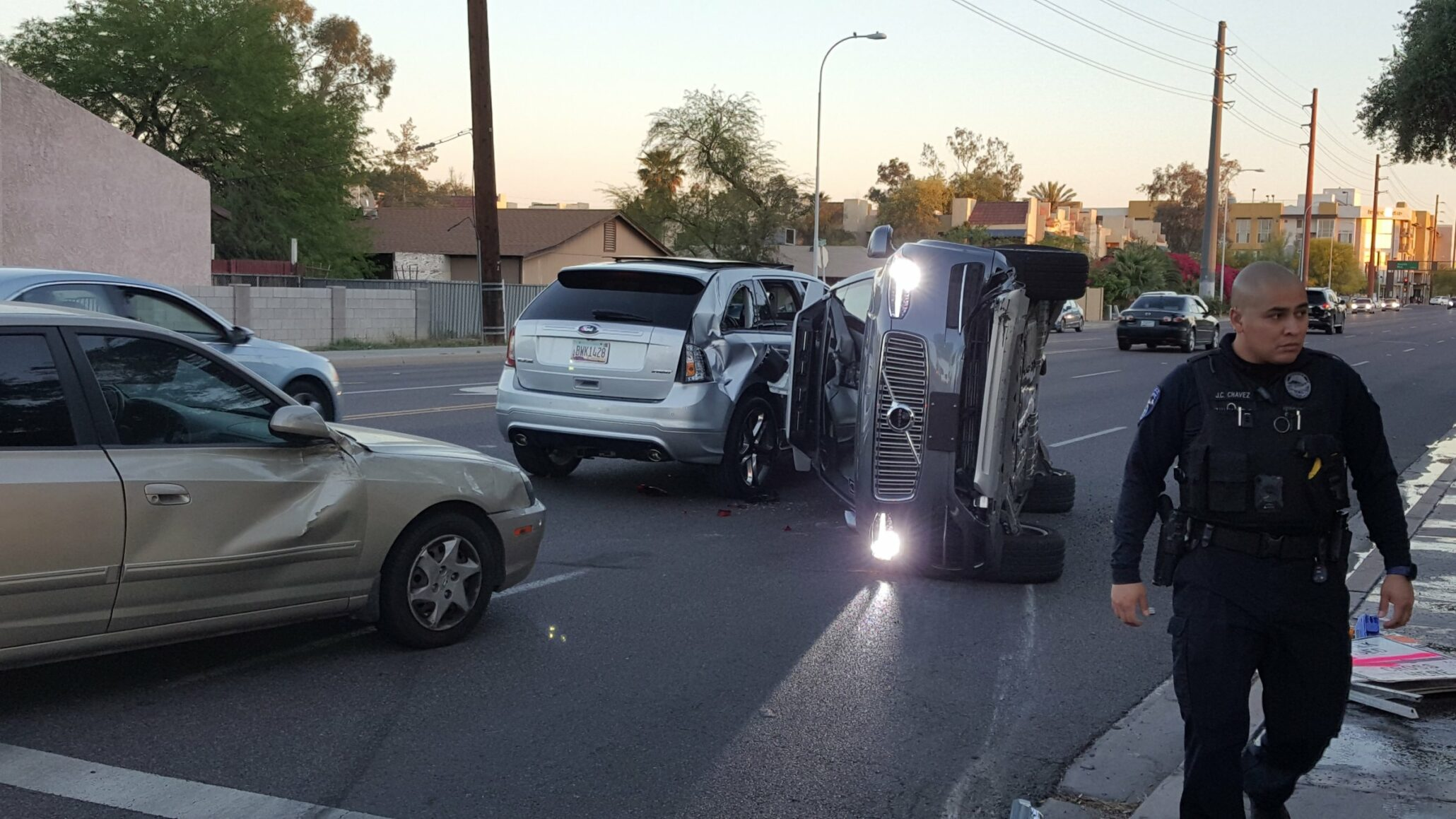 Uber In Trouble Once More As Its Self Driving Car Involved A Serious Crash Arizona