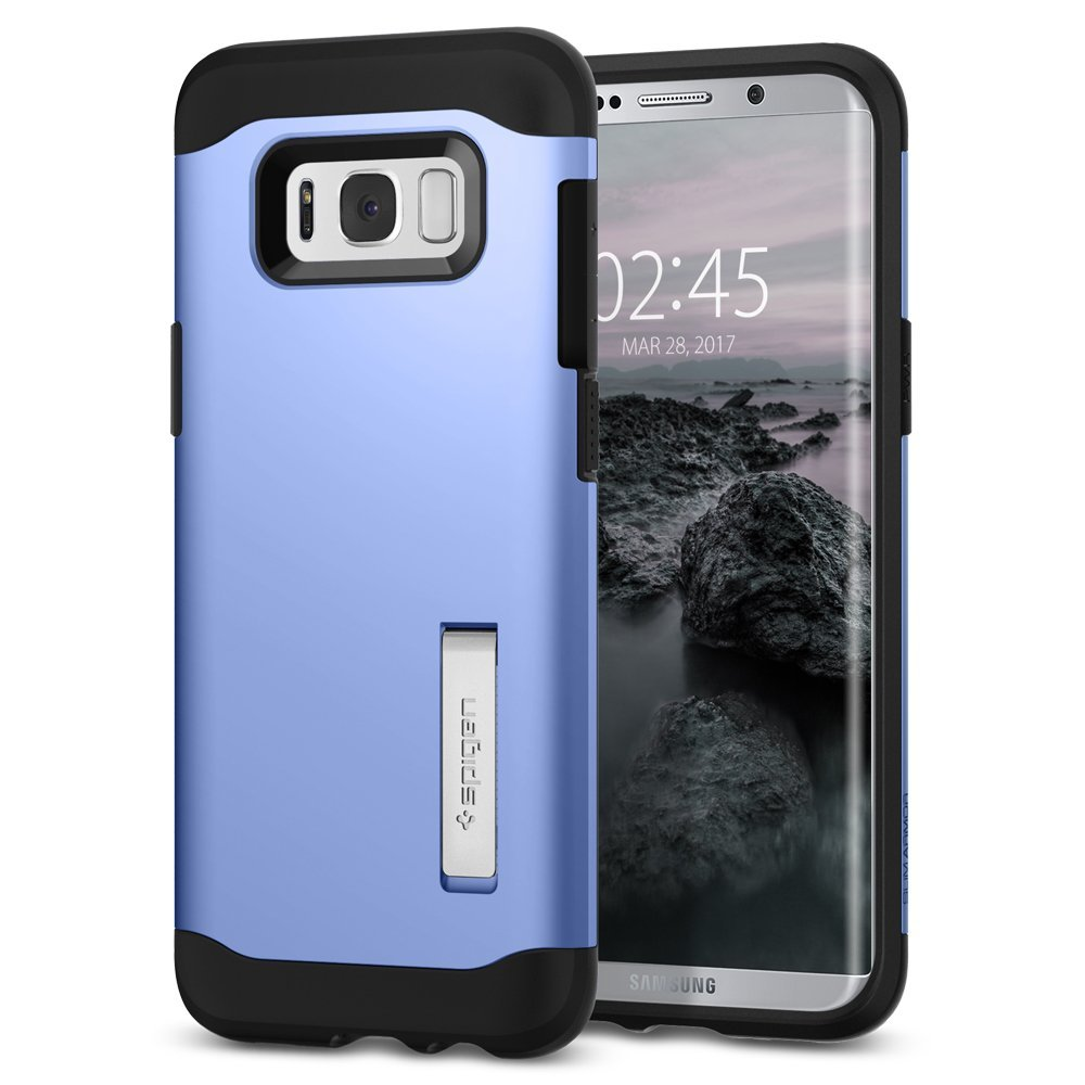 Here Are The Best Cases To Buy For Your Galaxy S8 Spigen Case Thin Fit Black Is A Known Purveyor Of Durable And Premium Smartphone Its Slim Armor Series Will Not Only Protect