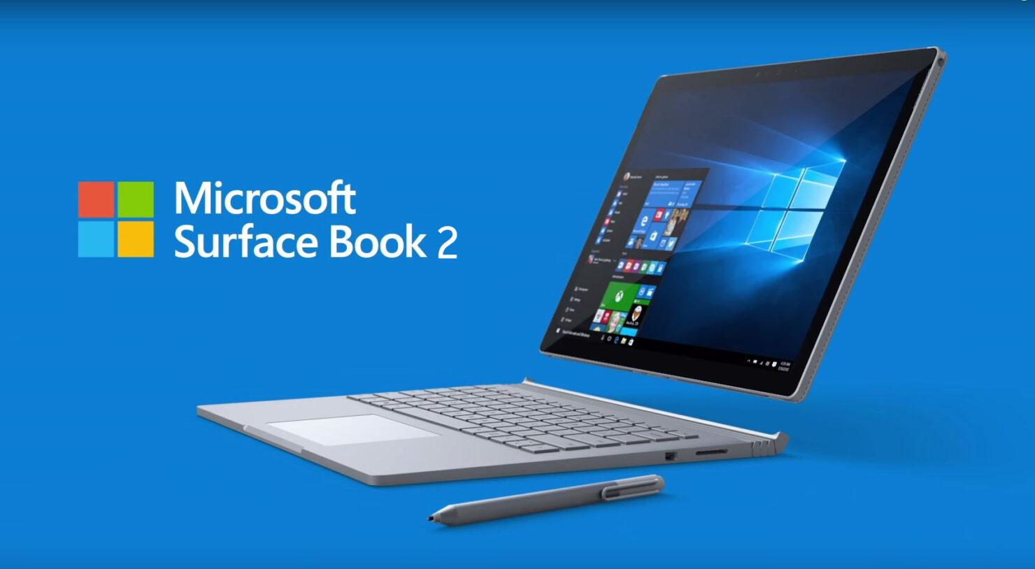 Surface Book 2 next month