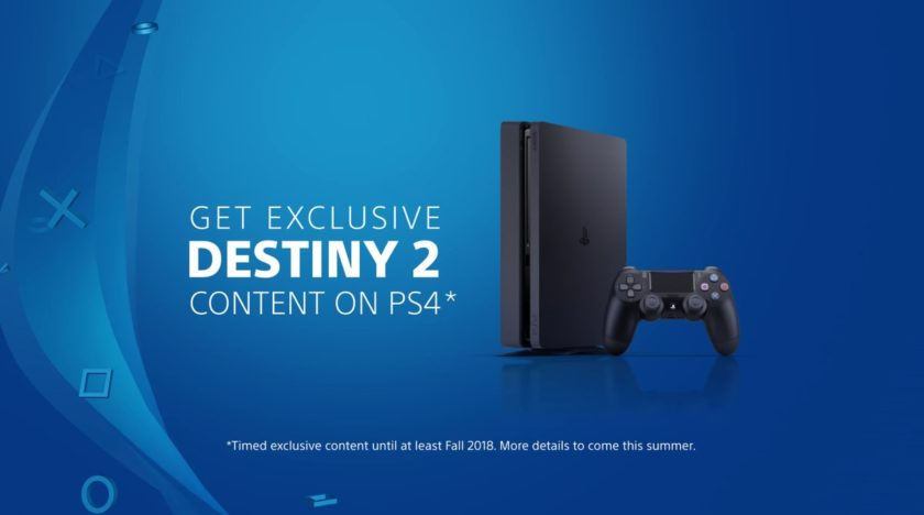destiny 2 ps4 exclusive