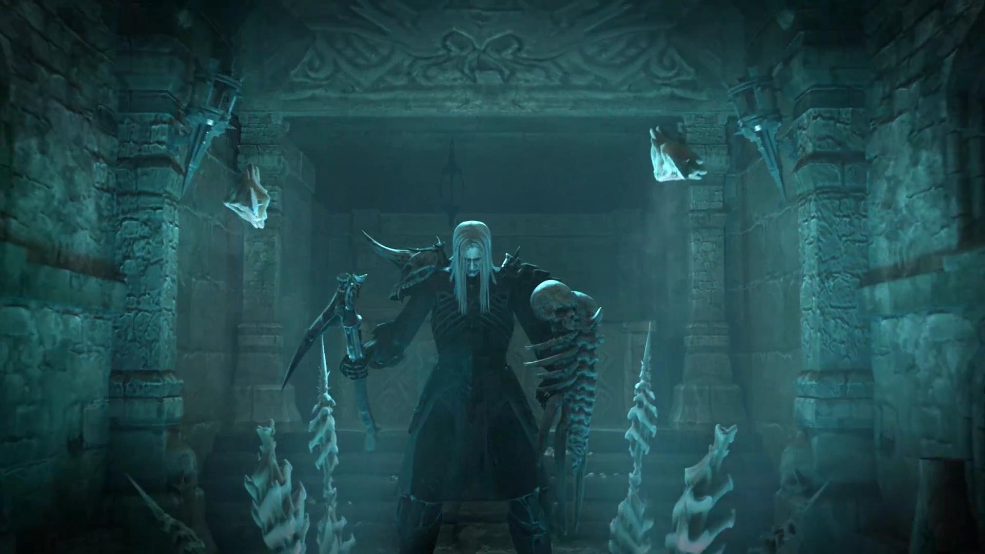 Blizzard Shares Diablo 3 Necromancer Details Including