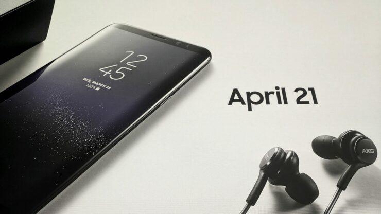 Galaxy S8 akg earbuds
