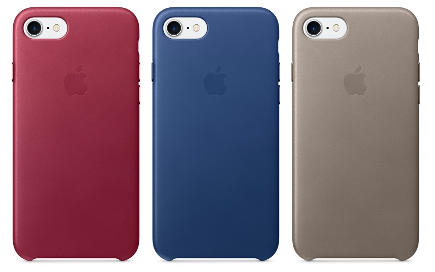 iphone 7 plus color options. the pricing of cases remain same, with silicone setting users back $35 for iphone 7 and $39 plus. leather cases, on iphone plus color options
