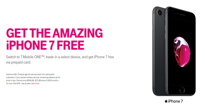 trade in iphone tmobile t mobile is giving you a free iphone 7 if you switch to 6051