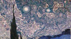 Jupiter's new images from NASA's Juno mission look like something out of a famous painting.