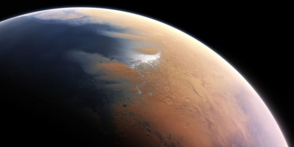NASA proposes a magnetic shield to rehabilitate Mars' environment and turn it into a hospitable one