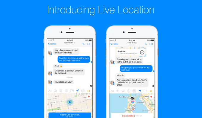 Facebook Messenger Replicates Google Maps, Adds Temporary ... on google maps icon, google maps listing, find current location, google location finder, google compound, google address location, google location icon, my current location, google location pin, google car location, google maps example, google marker, google maps funny, find ip address location, google my location, google maps history, google products, google latitude history view, marketing location, google location app,