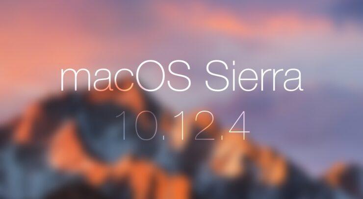 macOS 10.12.4 Sierra