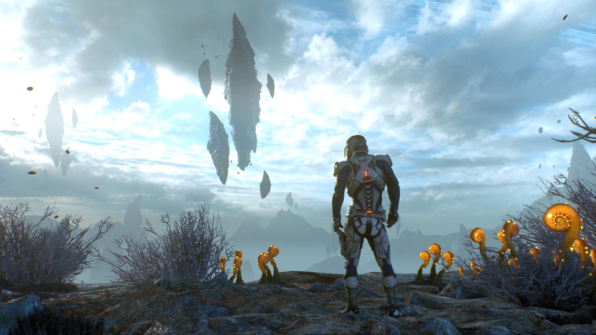 Mass Effect Andromeda PS4 Pro Screenshots Look Great ...