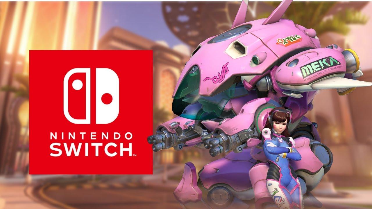 overwatch Switch Nintendo Switch port case