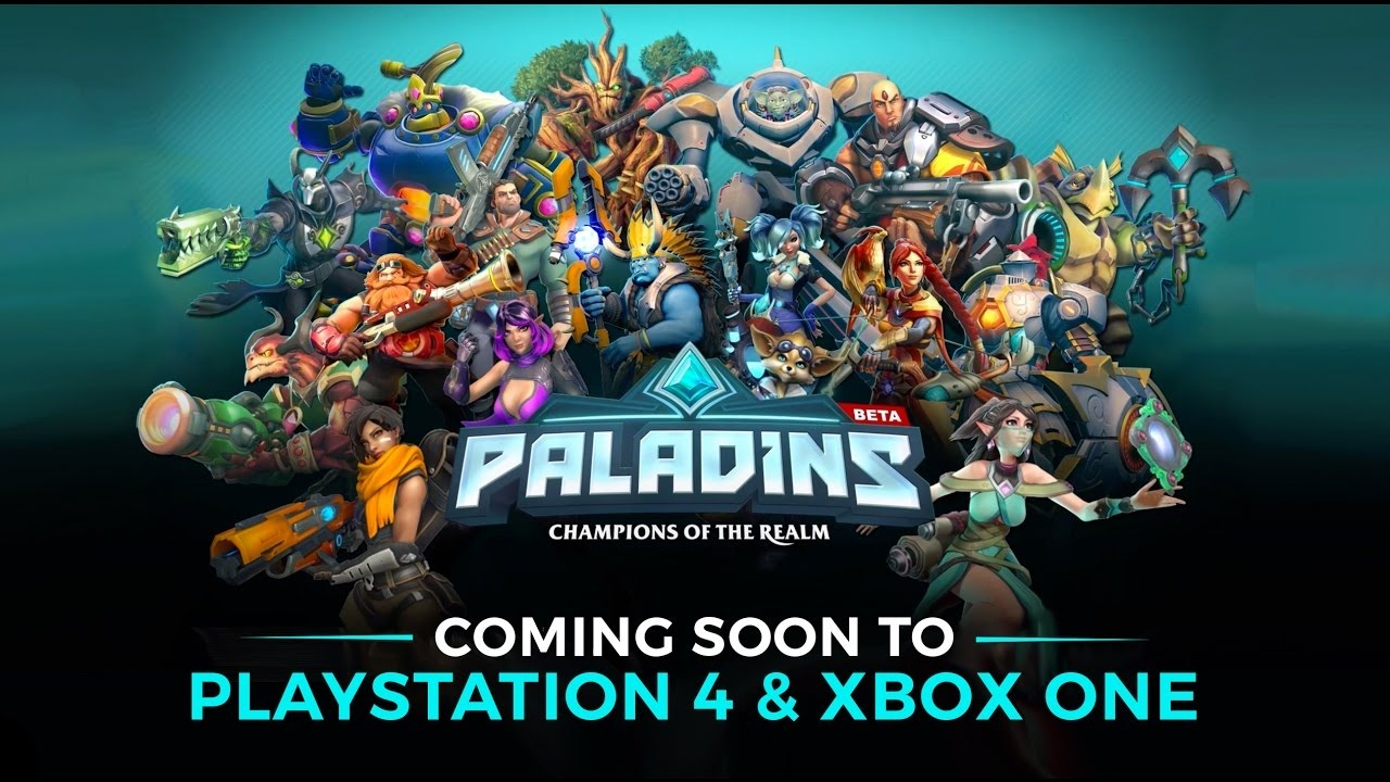 Paladins Console Beta Giveaway - 25K Codes for Your Taking