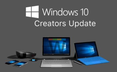 Windows 10 Creators Update release