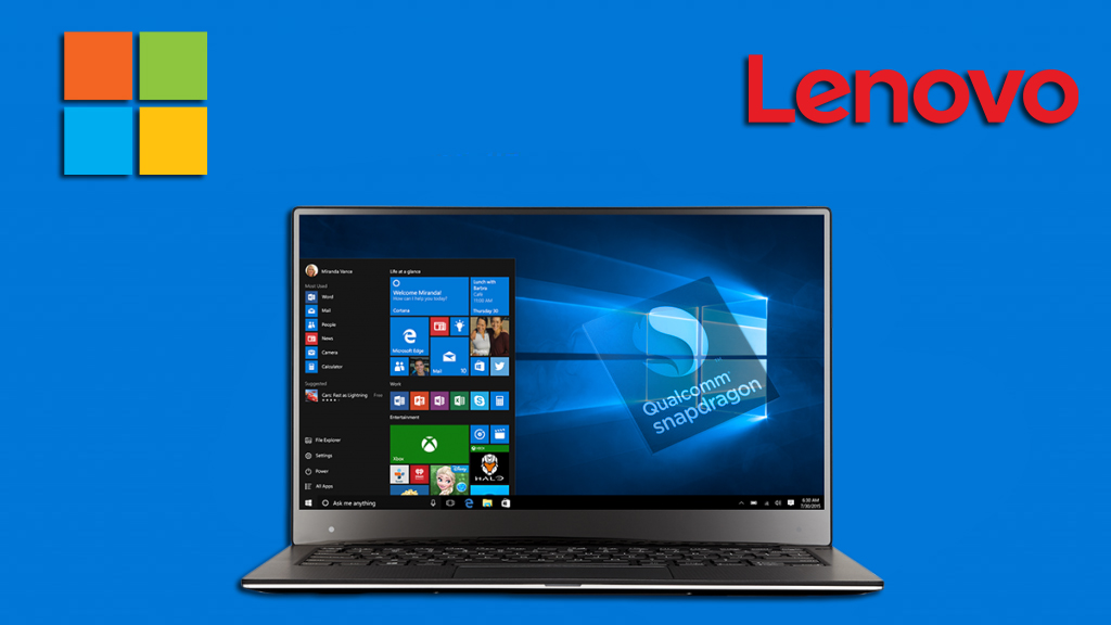 Microsoft and Lenovo's new ARM processor based Windows 10 Surface Laptops