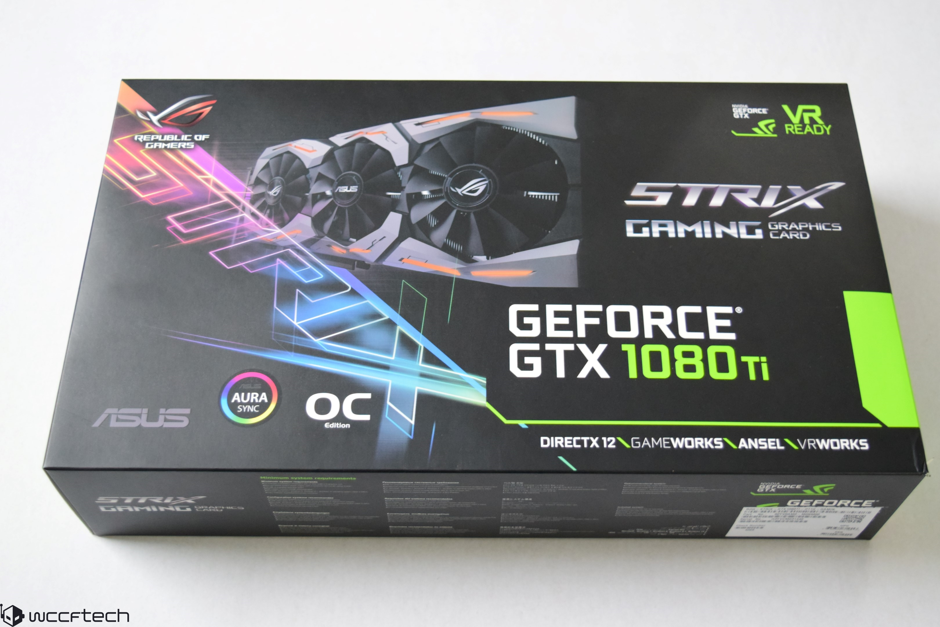 ASUS ROG STRIX GeForce GTX 1080 Ti OC 11 GB Review – When