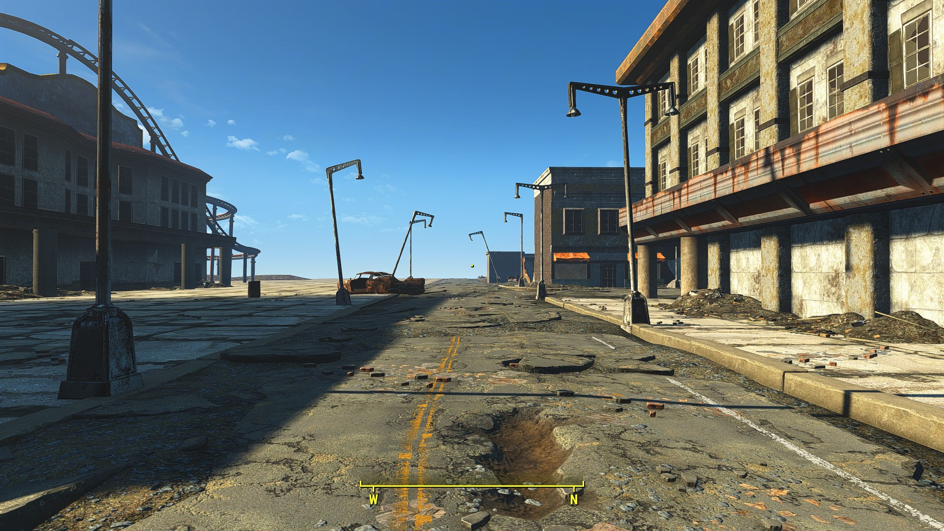 Fallout Las Vegas Map.Fallout 4 New Mod Aims To Recreate Entire New Vegas Map Screenshots