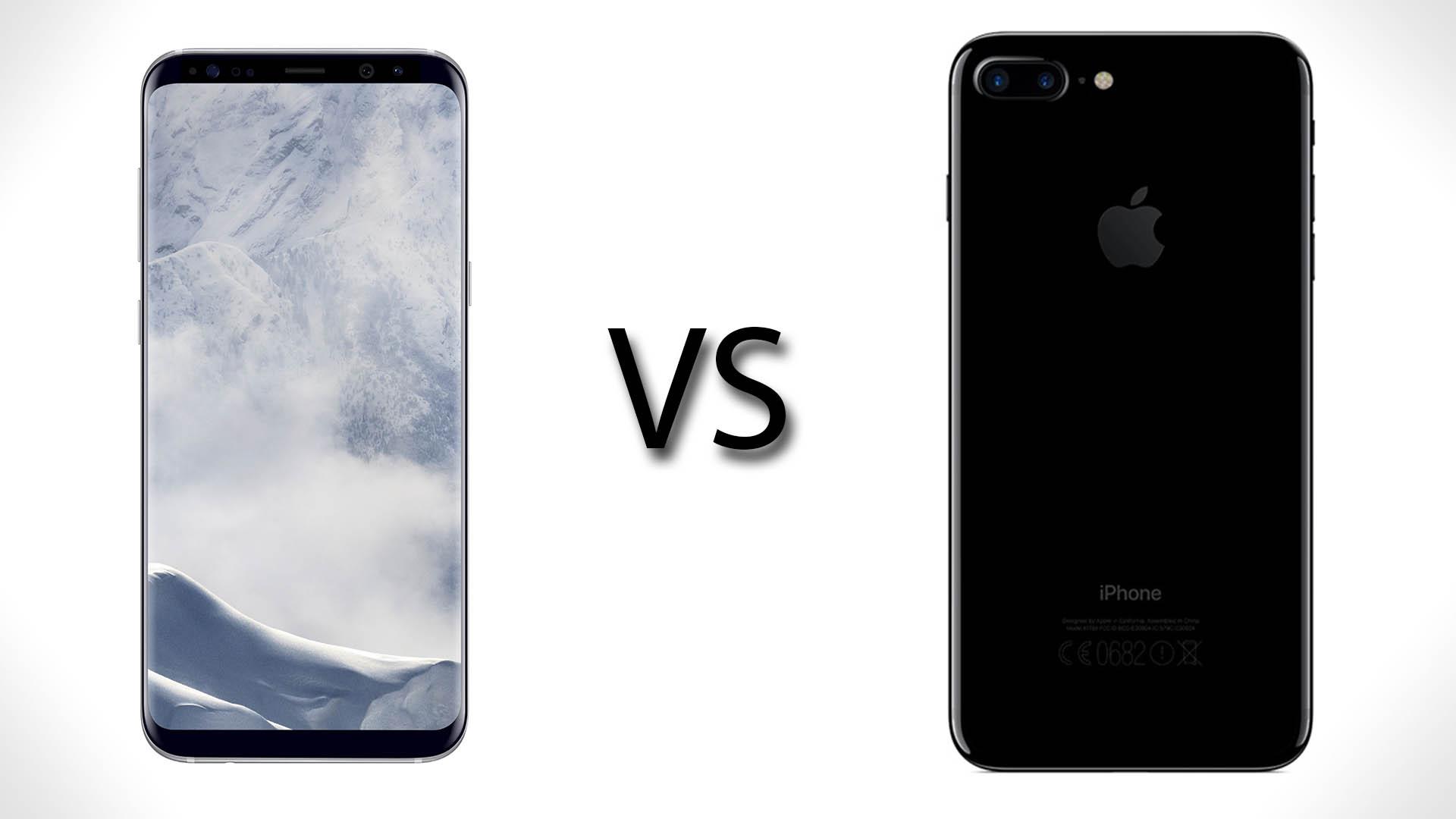 Iphone 7 Plus Vergleich Samsung S8