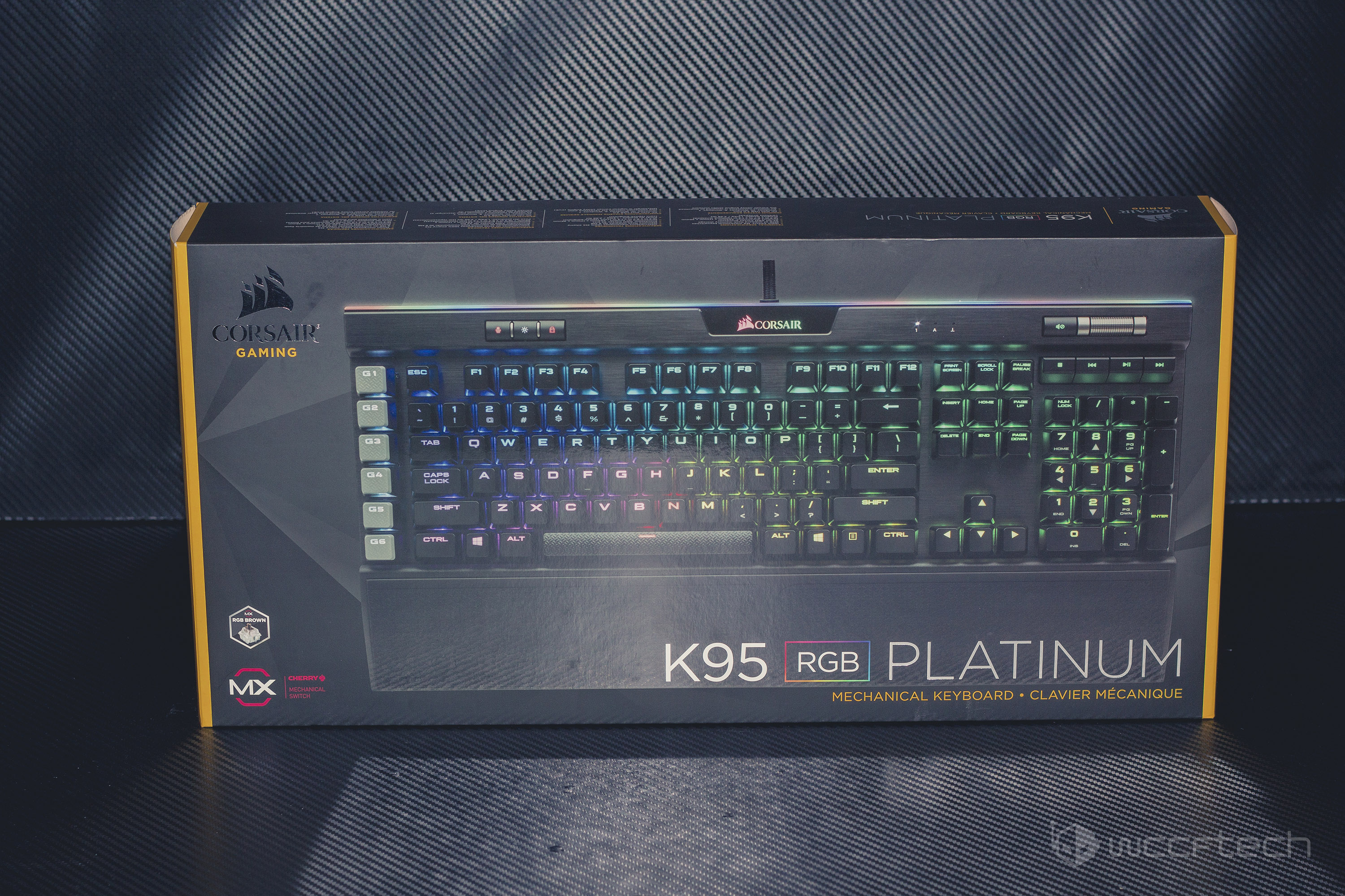 Corsair K95 Platinum With Cherry MX Brown RGB Switches Review