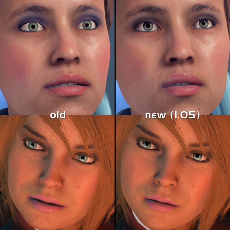 Mass Effect Andromeda eyes