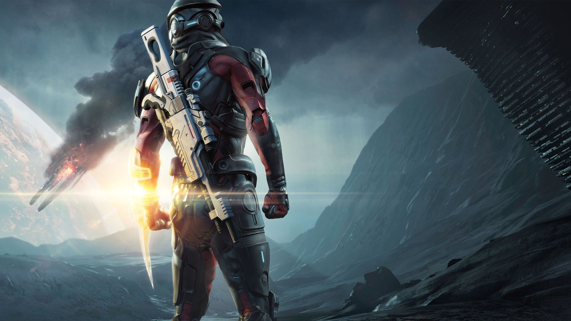Quarians Teased In Mass Effect Andromeda S Multiplayer Mission