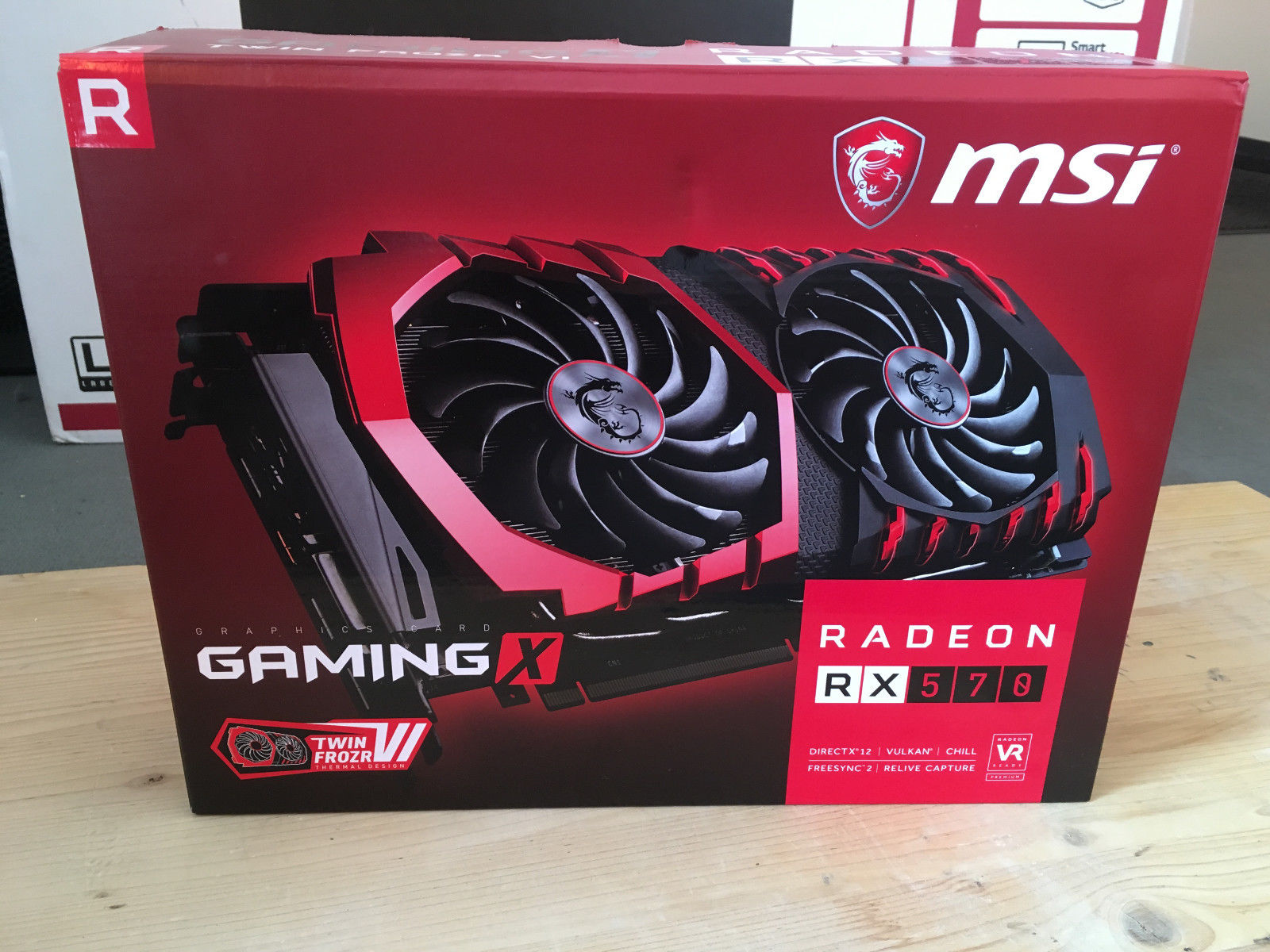 MSI Radeon RX 570 Gaming X Being Sold on eBay For $380 US