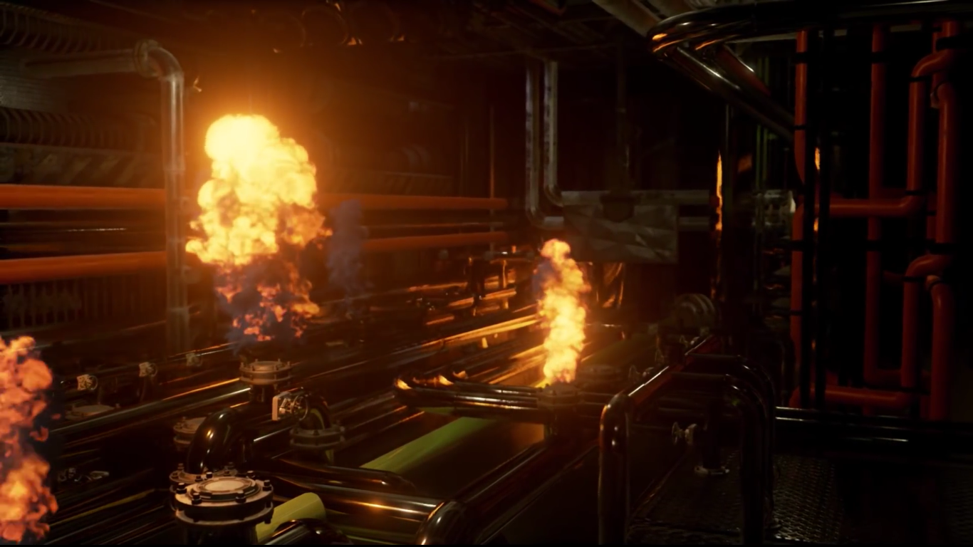NVIDIA Showcases GameWorks Flow Tech in DirectX 12 With Real-time