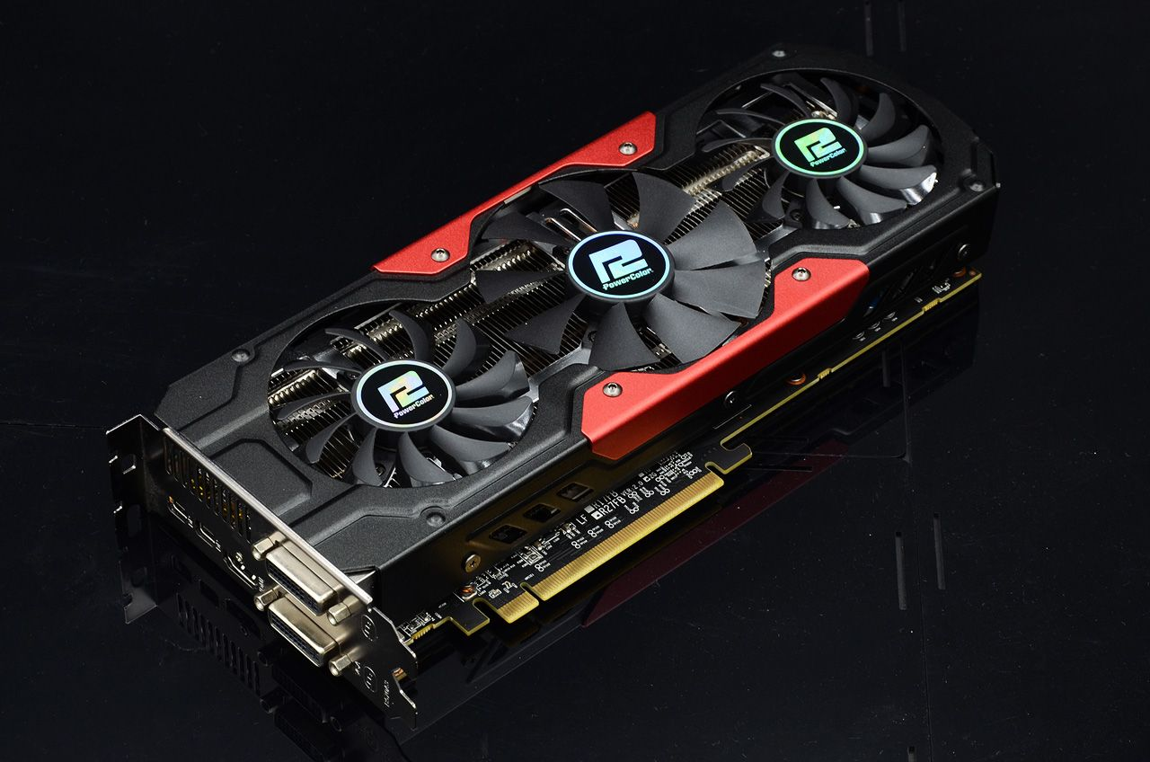 PowerColor Teases What Could Be the Upcoming Radeon RX 580 With a Monstrous Air Cooler