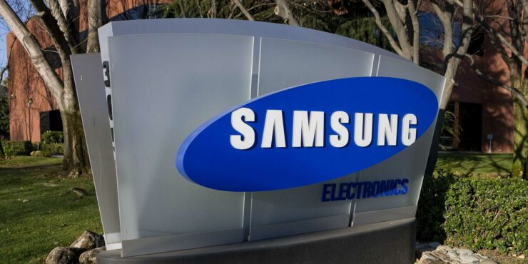 Samsung single digit growth