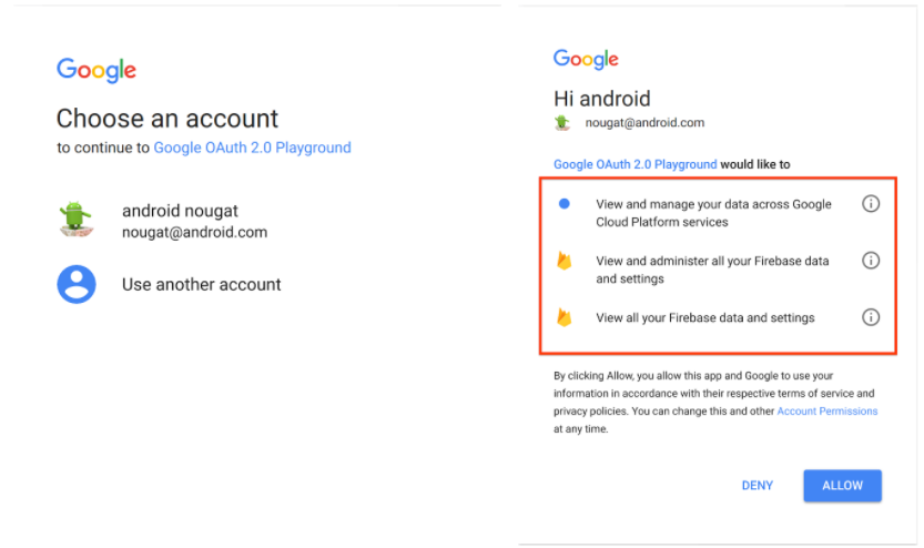 Google new sign-in policies