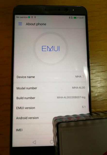 Huawei Mate 9 Android O