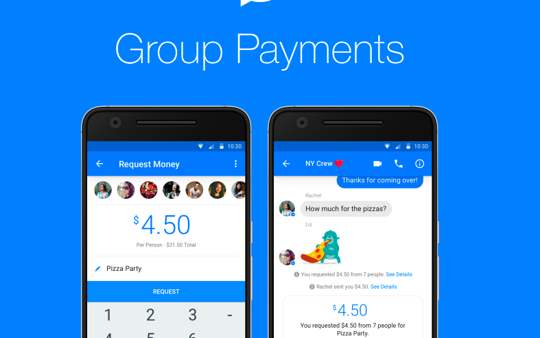 Facebook Messenger's New Group Payment Feature Can Steal Splitwise's