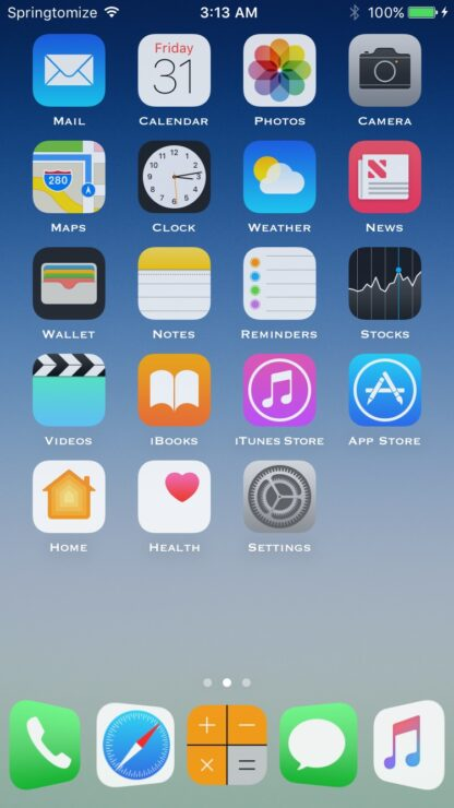 springtomize-4-ios-10-4