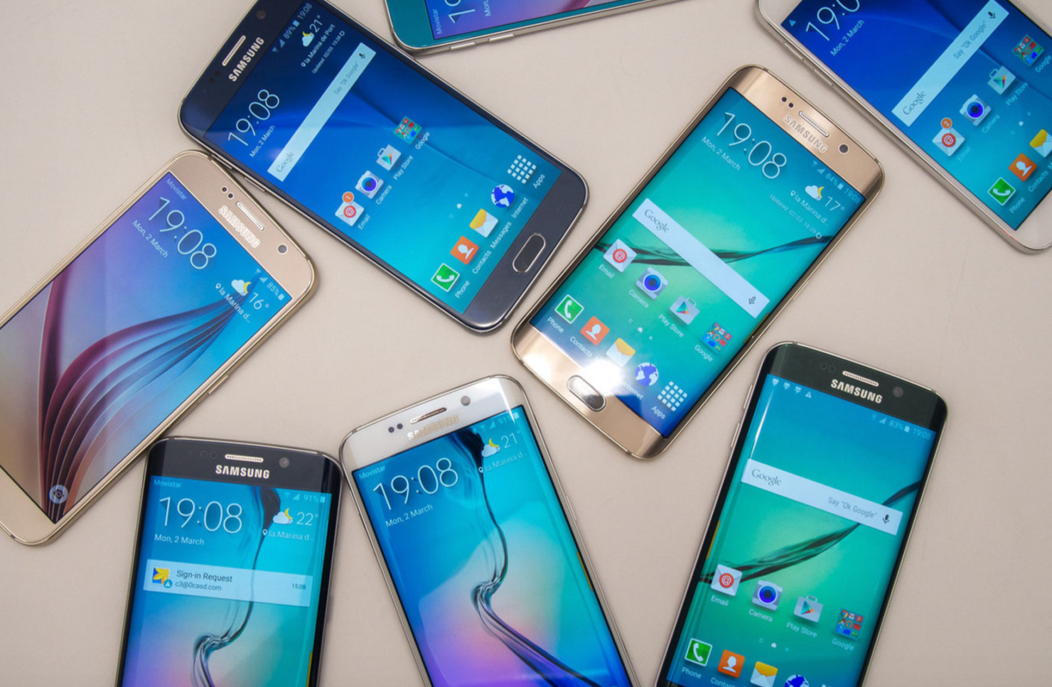 Galaxy S7 edge ROM update Galaxy S7 edge to Android 7.1.2 rom
