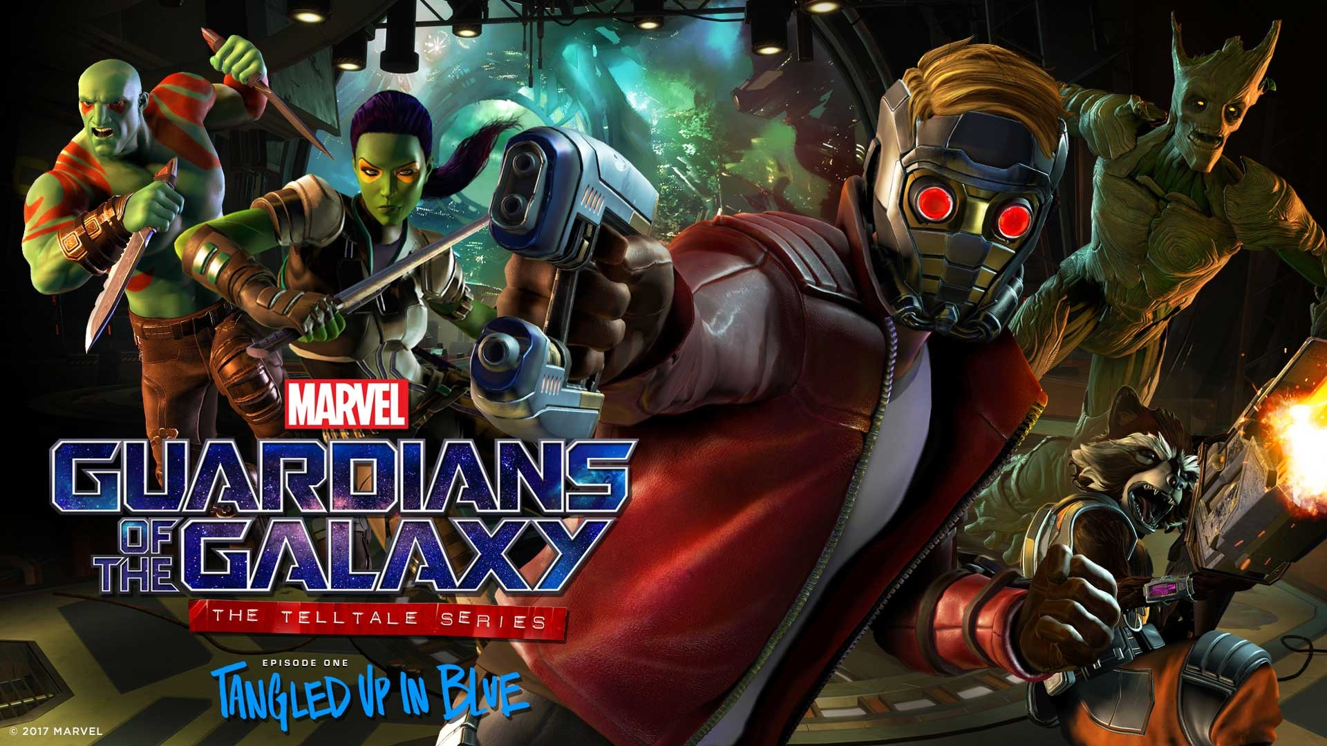 Bildresultat för guardians of the galaxy telltale