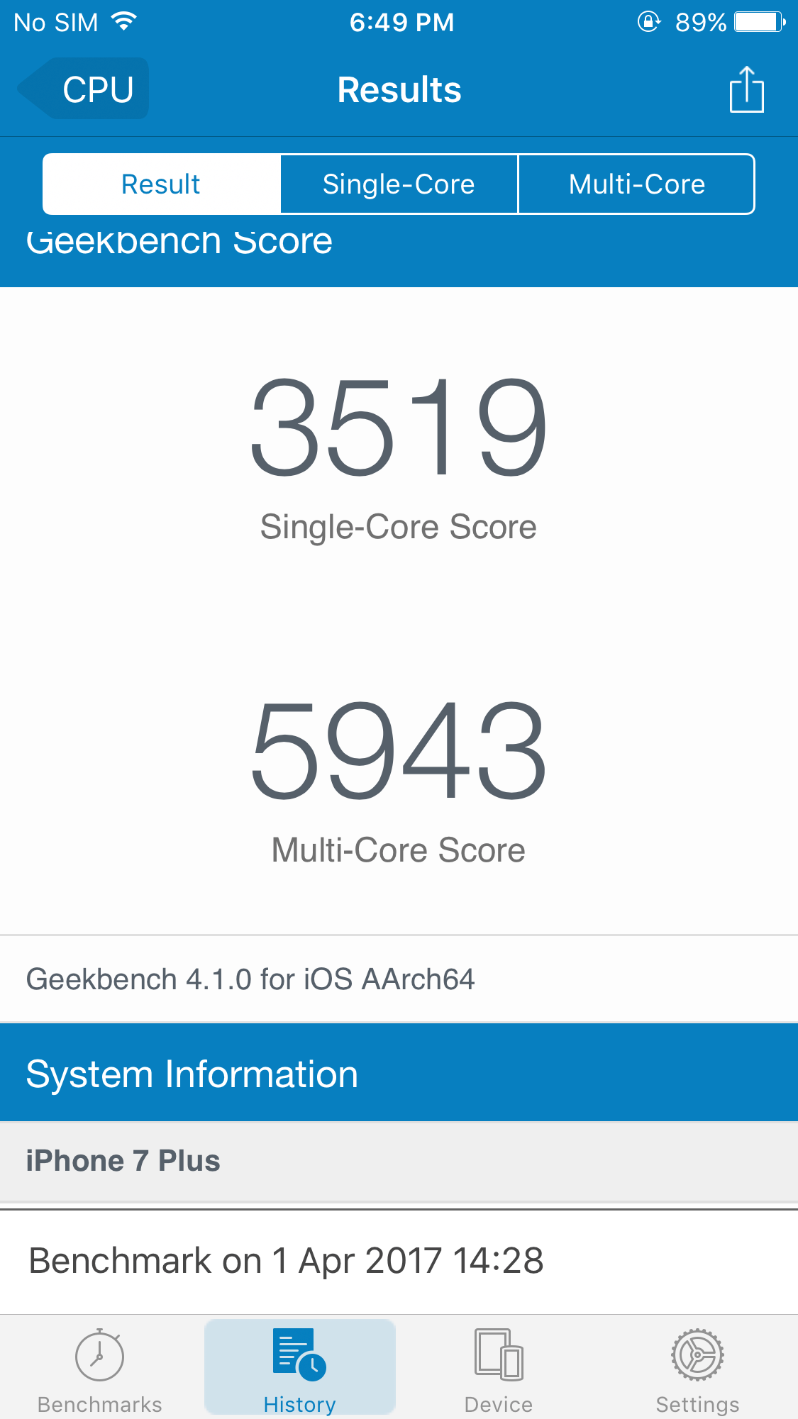 Apple A11 Allegedly Leaked Geekbench Score Tears Through the