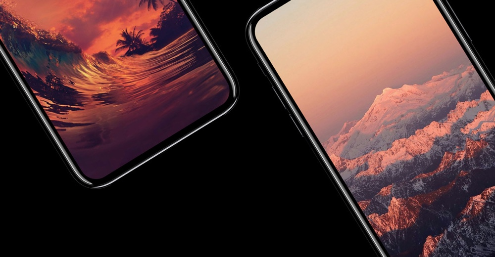 iphone x concept with full vision display is perhaps the iphone of our dreams. Black Bedroom Furniture Sets. Home Design Ideas