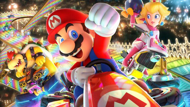 Mario Kart 8 Deluxe update 1.2.1