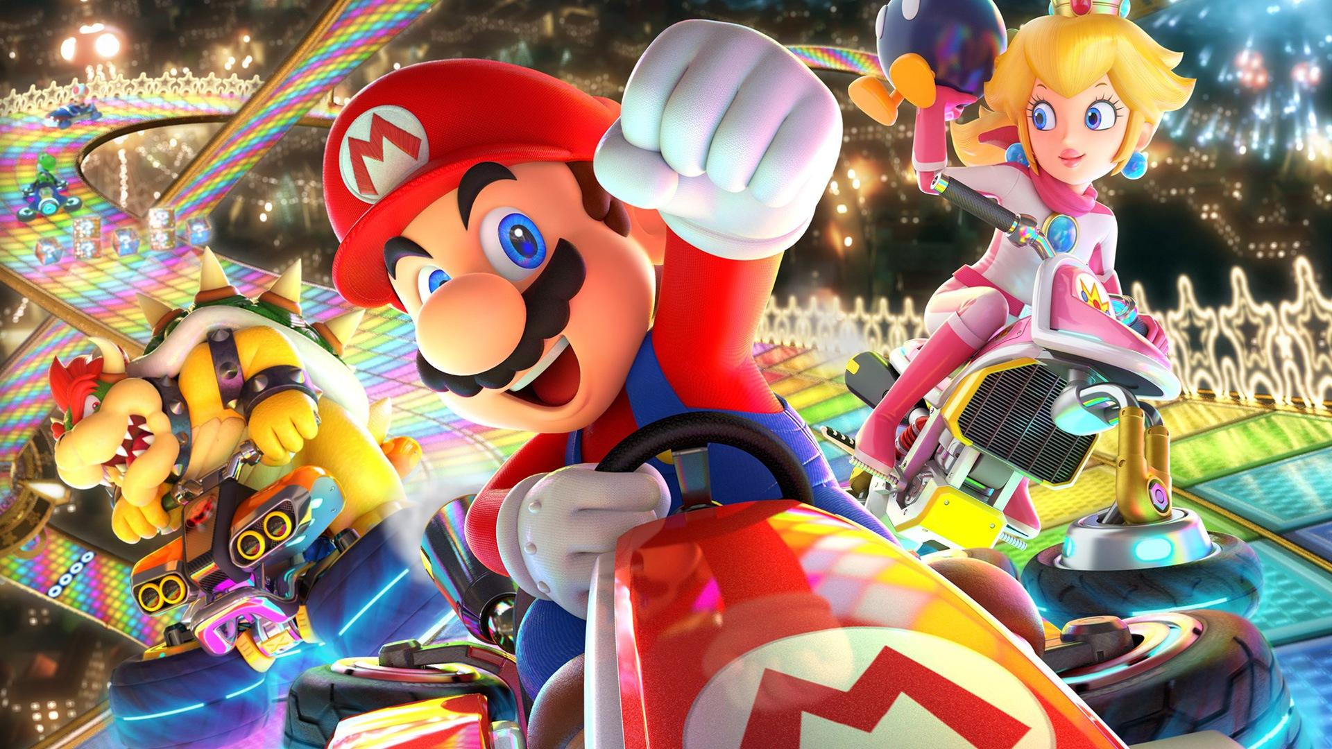 Nintendo Releases Minor Nintendo Switch Mario Kart 8 Deluxe