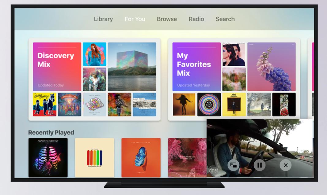 Apple TV To Add Picture-in-Pic...