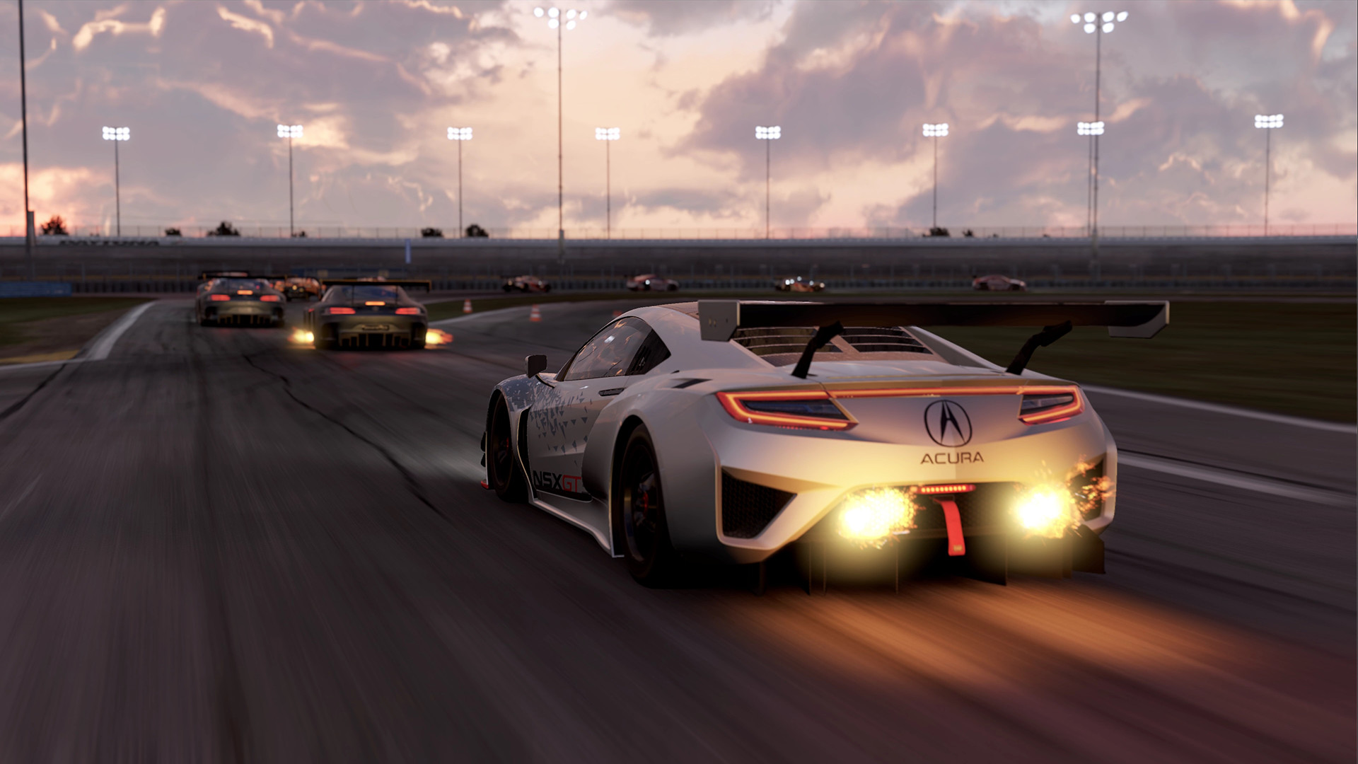 "bandai namco reveals the complete project cars 2 180+ ""fully"
