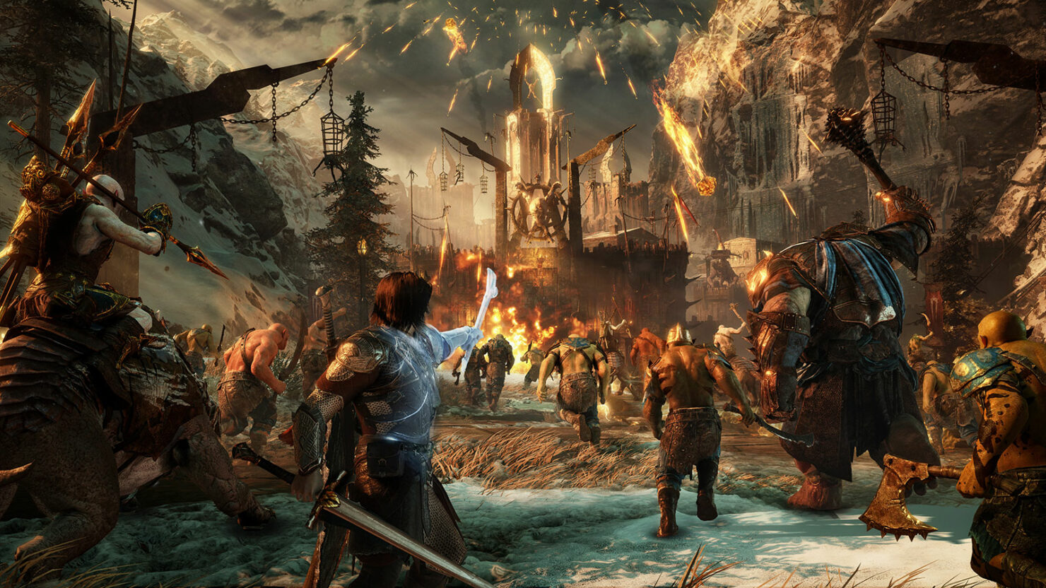 Shadow of War Xbox One X