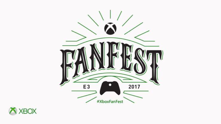 xbox e3 2017 fanfest